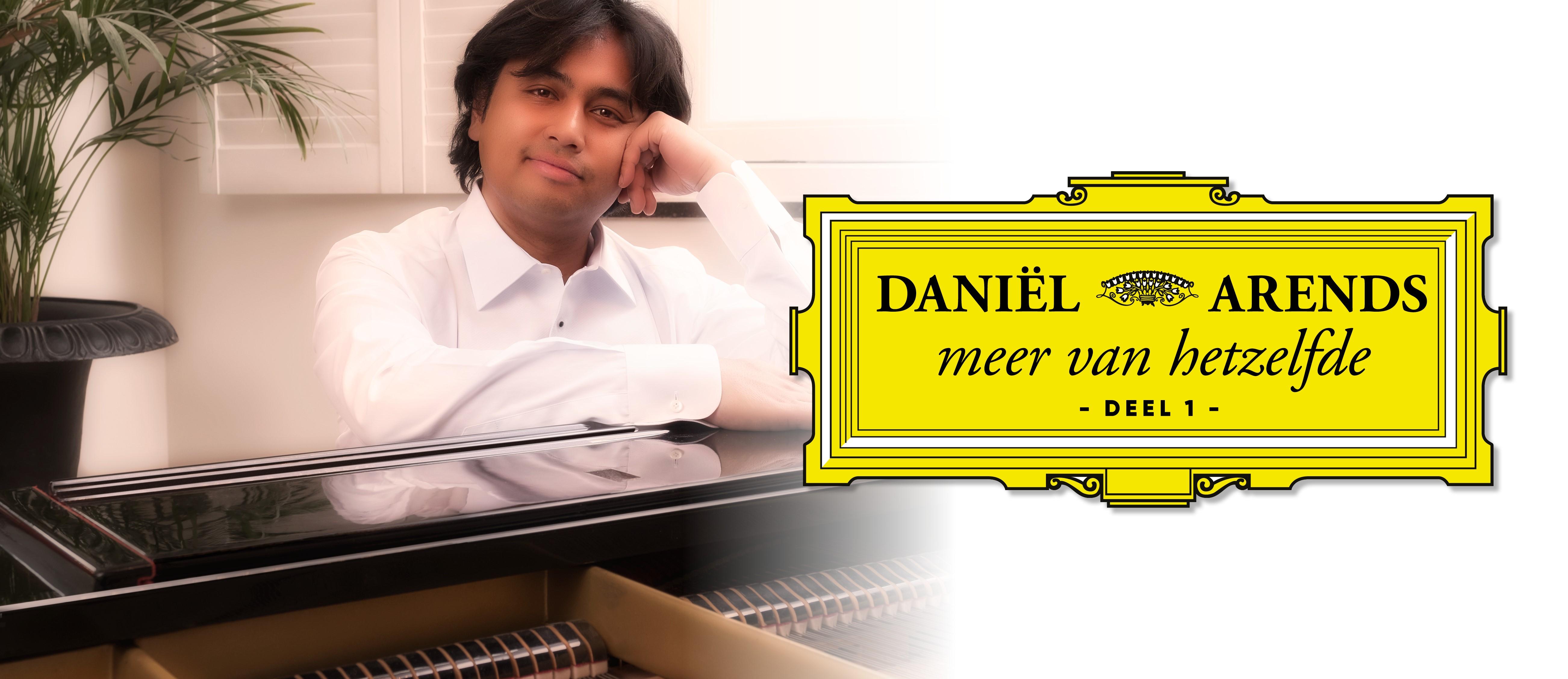 """Daniël Arends """"Meer van hetzelfde deel 1"""". 23 januari in Bolsward"""